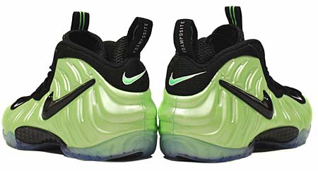 NIKE AIR FOAMPOSITE PRO [ELECTRIC GREEN BLACK] 624041-300 写真1