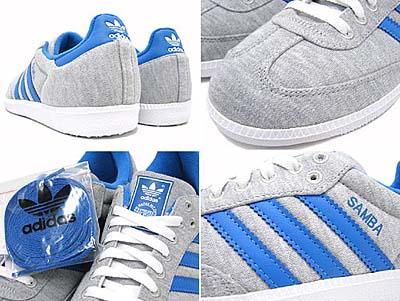 adidas SAMBA [adidas GRUN|GREY/BLUE/BLUE]