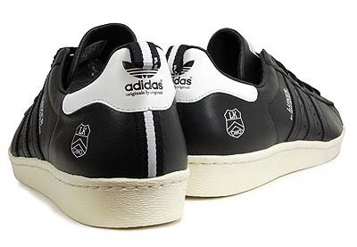 adidas SUPERSTAR 80's [BLACK|LUKER BY NEIGHBORHOOD]