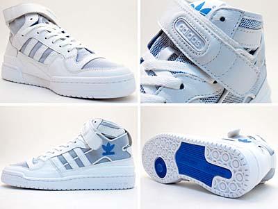 adidas FORUM MID BEACH [WHITE/BLUE]