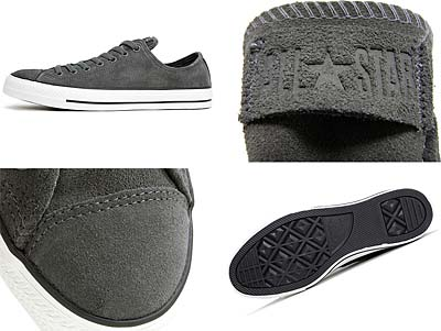 CONVERSE CHUCK TAYLOR ALL STAR OX [CHARCOAL SUEDE] 117290