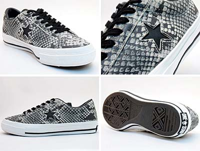 CONVERSE ONE STAR OX [GRAY SNAKE]