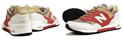 new balance M577 WRB [WHITE/RED/BEIGE] 写真1