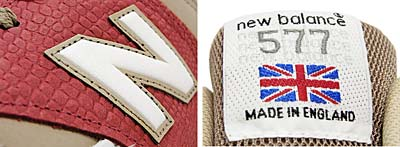 new balance M577 WRB [WHITE/RED/BEIGE] 写真2