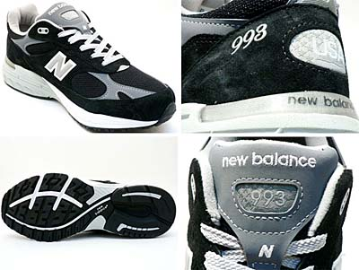 new balance MR993 BK [BLACK] 写真1