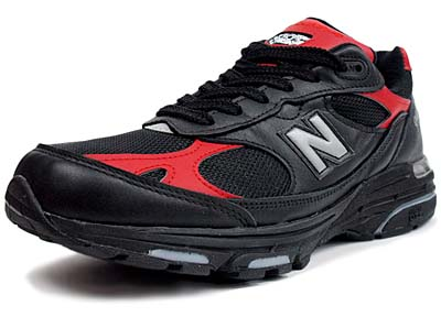 new balance MR993 LBR [BLACK/RED]