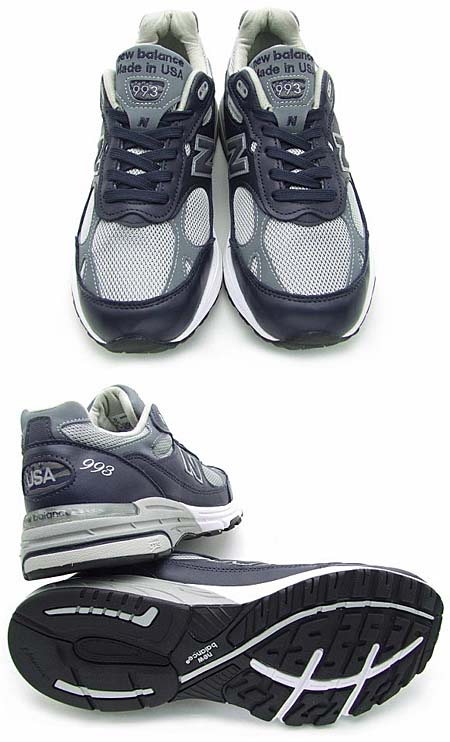 new balance MR993 NG [NAVY/GRAY] 写真2