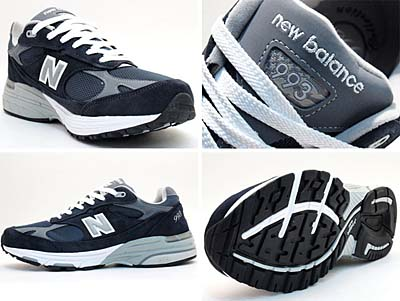 new balance MR993 NC [NAVY/CAROLINA] 写真1