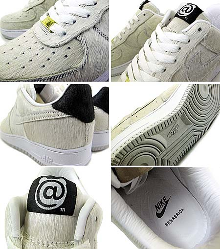 NIKE AIR FORCE 1 LOW PREMIUM [BE@BRICK|WHITE] 318775-102 写真1
