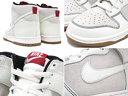 NIKE DUNK HIGH [SAIL/WHITE/VELVET BROWN/BLACK] 407920-106 写真1