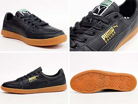 Puma DALLAS LEATHER [BLACK/GUM] 352121 画像1