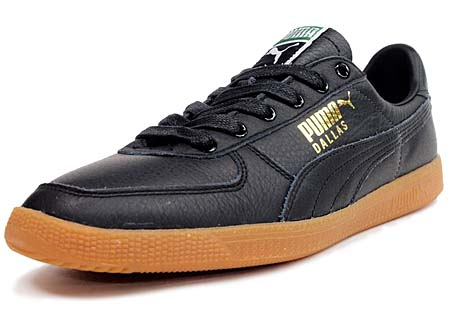 Puma DALLAS LEATHER [BLACK/GUM]