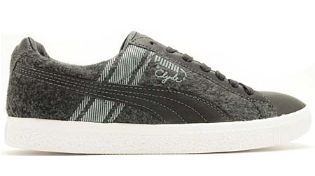 PUMA CLYDE SURVIVAL [DARK SHADOW/WHITE] 352130 画像1