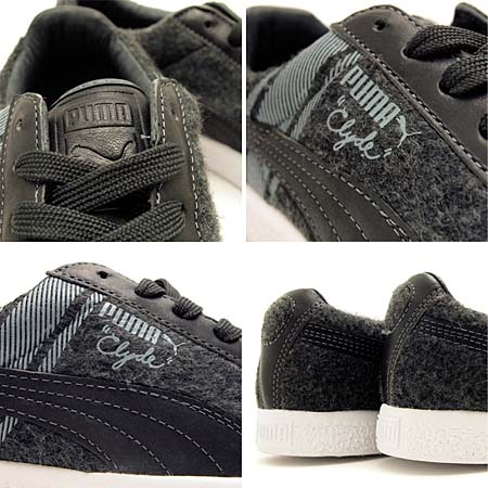 PUMA CLYDE SURVIVAL [DARK SHADOW/WHITE] 352130 画像2