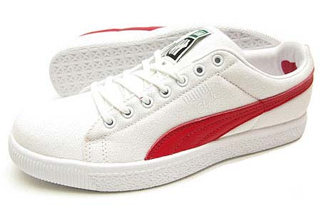 PUMA CLYDE x UNDFTD CANVAS [WHITE/RIBBON RED]