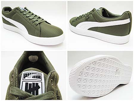 PUMA x UNDFTD CLYDE RIPSTOP [BURNT OLIVE/WHITE] 352772 画像1