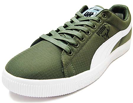 PUMA x UNDFTD CLYDE RIPSTOP [BURNT OLIVE/WHITE]