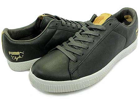 UNDEFEATED x PUMA CLYDE LUXE [FOREST NIGHT/VAP GREY]