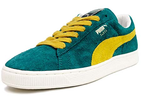 Puma SUEDE VNTG [GREEN/YELLOW]