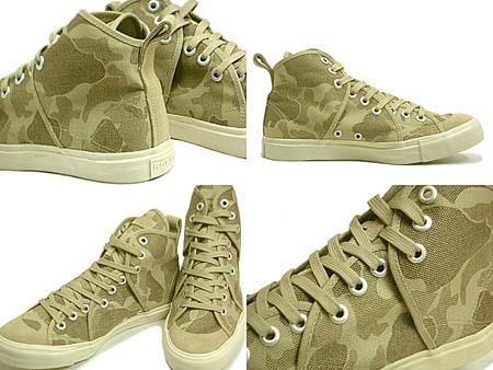 Rhythm Footwear SANDWICH HI CAMO [BEIGE] R-1112021