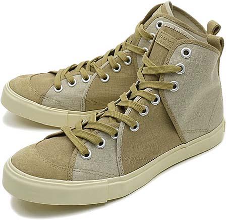 Rhythm Footwear SANDWICH HI ASA [BEIGE X LT. BEIGE] R-1112023 画像