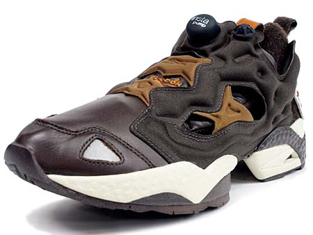 Reebok INSTA PUMP FURY [FLIGHT JACKET PACK|BROWN/WHITE] J82180 写真1