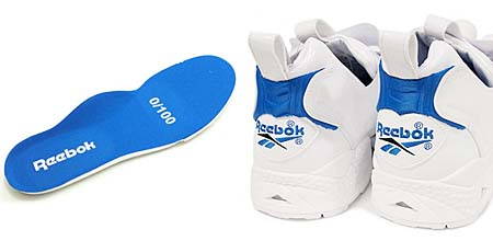 Reebok INSTA PUMP FURY for atmos 10th Anniversary [WHITE/BLUE] V49274 写真2