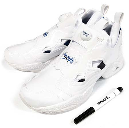 Reebok INSTA PUMP FURY for atmos 10th Anniversary [WHITE/BLUE] V49274