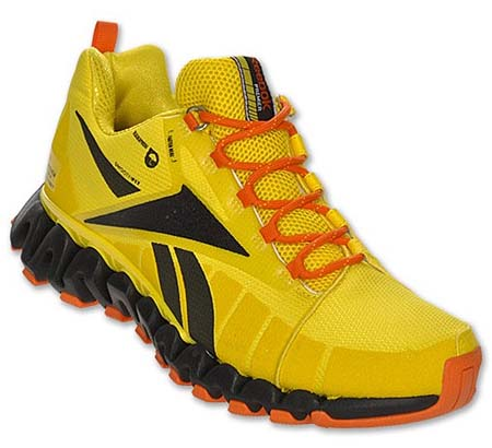 Reebok PREMIER ZIGTRAIL [BLACK/YELLOW/ORANGE] V57931 写真1