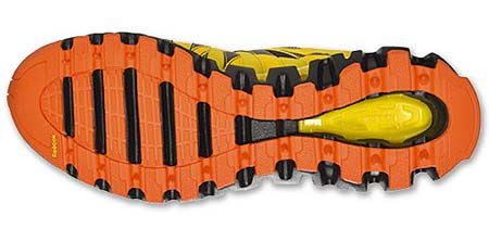 Reebok PREMIER ZIGTRAIL [BLACK/YELLOW/ORANGE] V57931 写真3