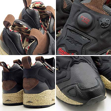 Reebok PUMP FURY for Reebok Collection [BROWN/BLACK/CAMO] V65174 写真2