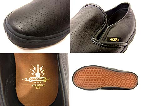 VANS SYNDICATE SLIP-ON DECOM [TOMMY GUERRERO|BLACK] 0L3C4NG 写真1