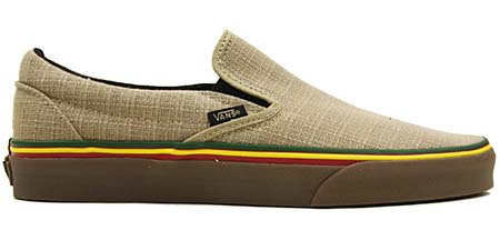 VANS CLASSIC SLIP-ON HEMP [IRIE INCENSE] 0LYF1ZG 写真1