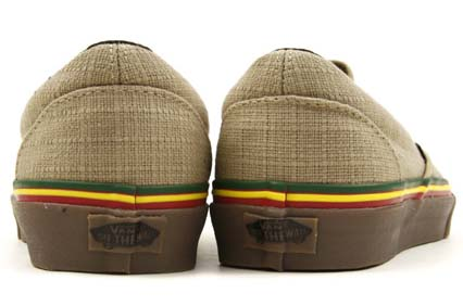 VANS CLASSIC SLIP-ON HEMP [IRIE INCENSE] 0LYF1ZG 写真2