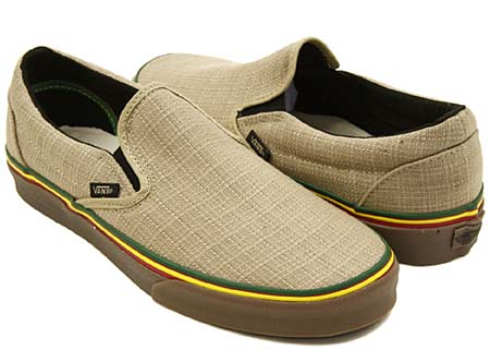 VANS CLASSIC SLIP-ON HEMP [IRIE INCENSE] 0LYF1ZG