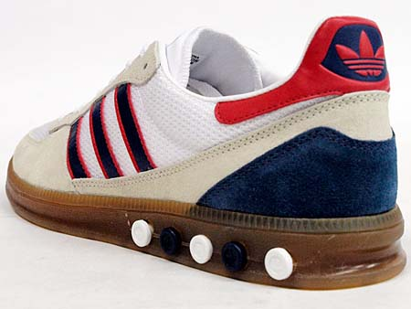 adidas HANDBALL 5 PLUG [ARCHIVE PACK|BEIGE/NAVY/RED] 552427 写真1