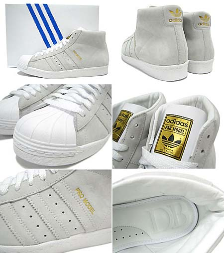 adidas OBYO PROMODEL DAVID BECKHAM [Run White] G20065 写真1