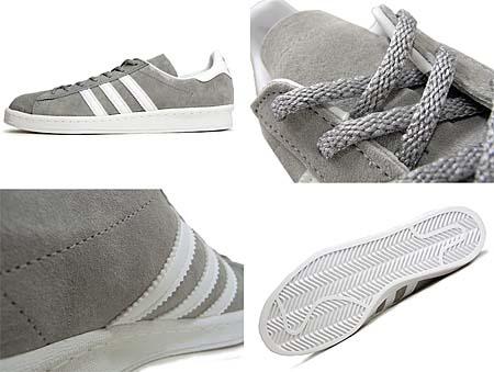 adidas CAMPUS 80'S [J.CREW Exclusive|ALUMI2/WHT/ALMI2] G42072 写真1
