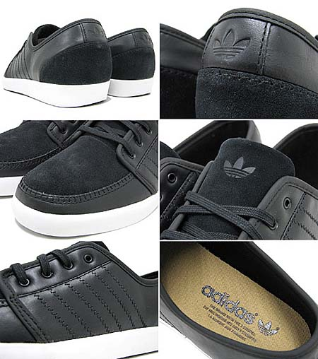 adidas SUMMER DECK [BLACK/WHITE] G42458 写真1