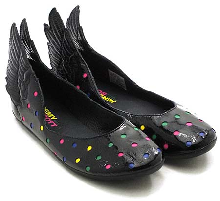 adidas ObyO JEREMY SCOTT WINGS BALLERINAS [BLACK/MULTI] G43770 写真1
