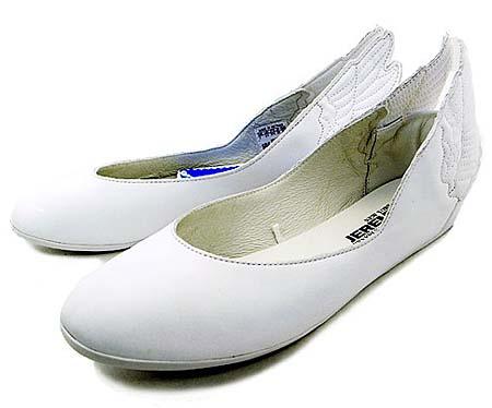 adidas OBYO JEREMY SCOTT WINGS BALLERINAS [WHITE] G43772 写真1