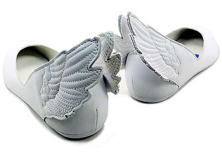 adidas OBYO JEREMY SCOTT WINGS BALLERINAS [WHITE] G43772 写真2
