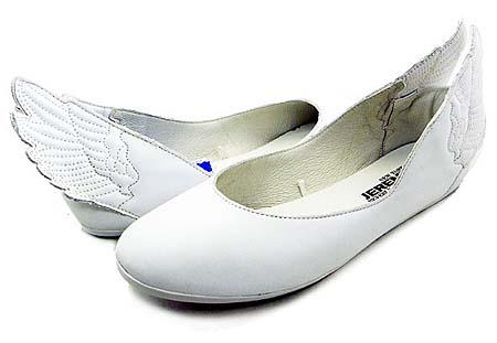 adidas OBYO JEREMY SCOTT WINGS BALLERINAS [WHITE] G43772