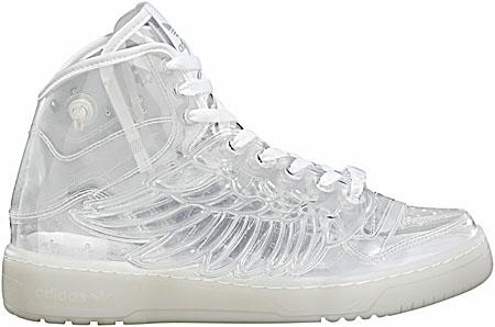 adidas OBYO JEREMY SCOTT WINGS [Clear] G43776 写真1