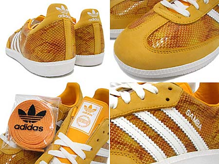 adidas SAMBA [COLLEGE GOLD/WHITE] G43956 写真1
