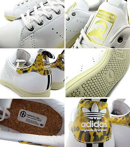 adidas ObyO KAZUKI STAN SMITH JAM HOME MADE [WHITE] G43979 写真1