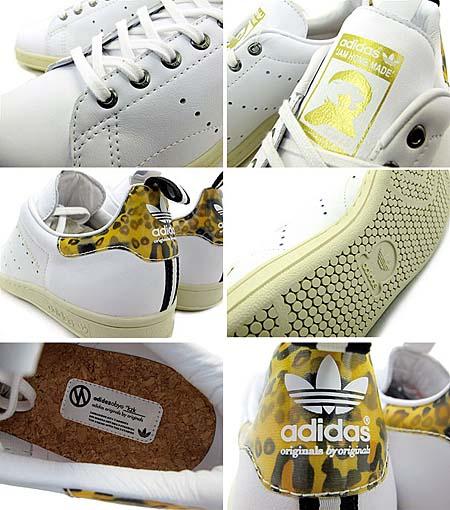 adidas ObyO KAZUKI STAN SMITH JAM HOME MADE [WHITE] G43979 写真1