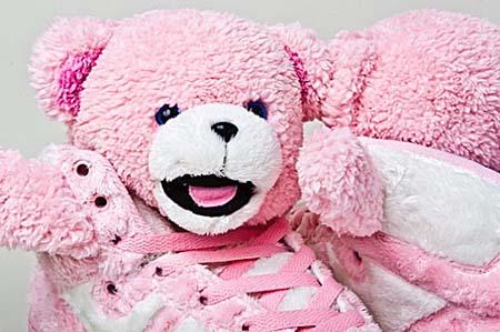 adidas OBYO JEREMY SCOTT TEDDY BEAR [LEGACY/DIVA-DIVA] G44001 写真2