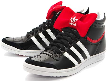 adidas top ten hi sleek w night [black 1/white/real red] G44417