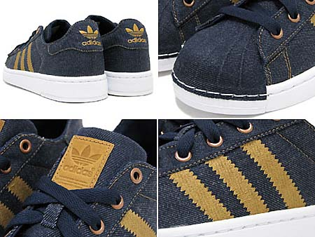 adidas SUPER STAR LITE LTO [Dk.Indigo/Wheat/White] G44716 写真1